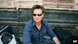 美國國家廣播公司首席駐外記者理查德.恩格爾今年7月在敘利亞(資料圖片)