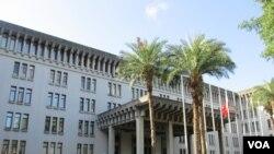 台灣外交部大樓。 (資料圖片)