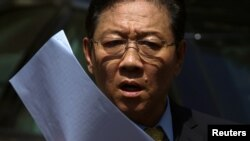 Đại sứ Bắc Triều Tiên tại Malaysia Kang Chol.