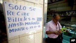 Maduro señaló que el motivo de la decisión es evitar el contrabando de dinero ante los recientes cambios monetarios establecidos por el gobierno chavista.