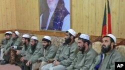 رهایی ٩ تن از زندان بگرام جهت حسن نیت پروسه صلح