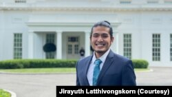 "Jirayuth Latthivongskorn, a ""dreamer"" recipient originally from Thailand, met on May 14, 2021 with President Joe Biden, who renewed his call for Congress to codify DACA."