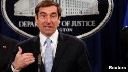 Заместитель генпрокурора США по национальной безопасности Джон Демерс