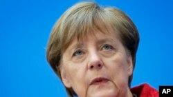 Germaniya kansleri Angela Merkel