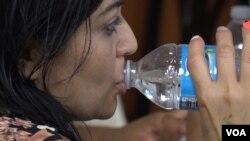 Water Up! promoviše pijenje vode u latinoameričkoj zajednici Lengli park.