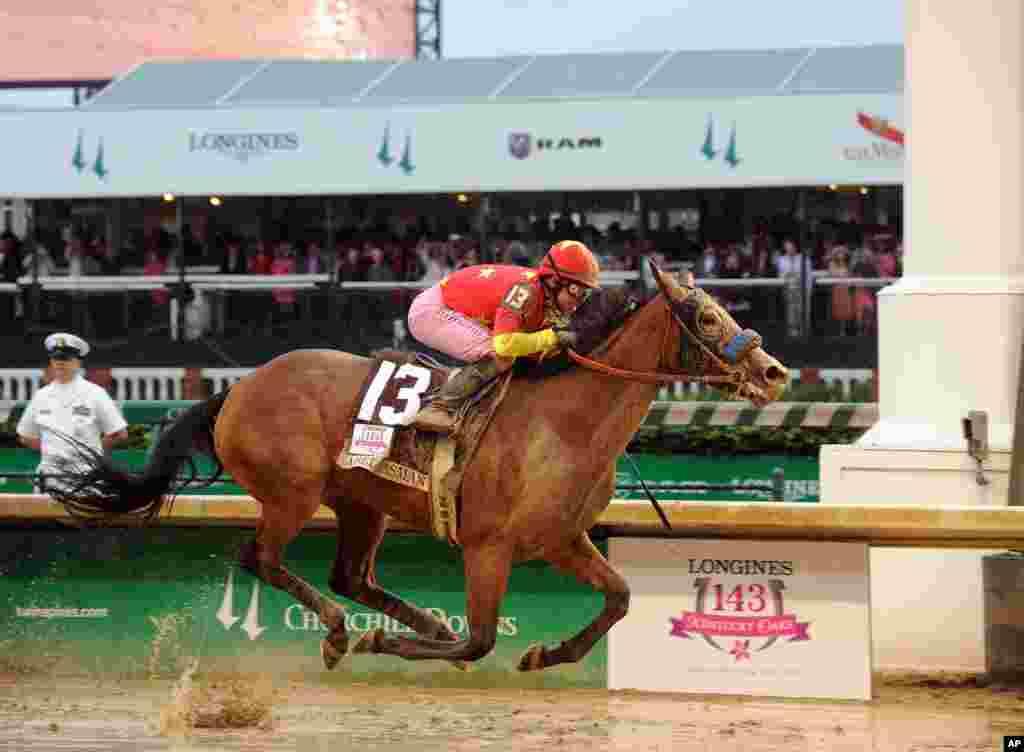 Garat me kuaj në Kentucky Derby