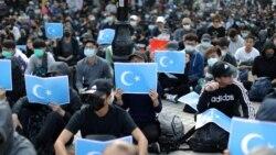 Xinjiang ေဒသ လူ႔အခြင္႔အေရးခ်ိဳးေဖာက္တဲ႔ တရုတ္အရာရွိေတြ အေနာက္ႏိုင္ငံမ်ား ဒဏ္ခတ္
