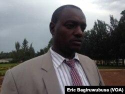 Bwana Innocent Kayiranga, umuyobozi w'akarere wungirije ushinzwe imari n'iterambere ry'ubukungu