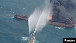 نفتکش ایرانی «سانچی» حامل ۱۳۶ هزار تن میعانات گازی و معادل حدود یک میلیون بشکه نفت بود.