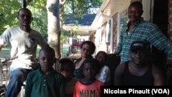 Người tị nạn từ Cộng hòa Trung Phi sống ở Clarkston, Georgia.