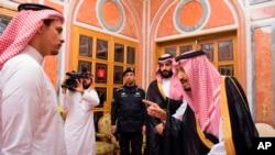 خبرگزاری دولتی سعودی می گوید صلاح فرزند جمال خاشقجی با پادشاه و ولیعهد عربستان دیدار کرد.