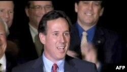 Rik Santorum odneo pobede u tri američke države Minesoti, Mizuriju i Koloradu, 7. februar 2012.