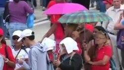 مراسم تشییع جنازه هوگو چاوز