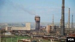 """""""აზოტის"""" ქარხანა რუსთავში"""