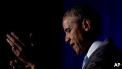 سخنرانی باراک اوباما رئیس جمهوری آمریکا در مراسم اهدای جوایز روزنامه نگاری تونر - ۹ فروردین ۱۳۹۵