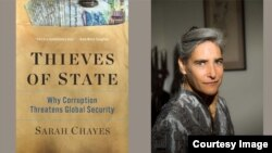 """Sarah Chayes, the author of """"Thieves of State: Why Corruption Threatens Global Security."""" (Courtesy photo of Durham University)"""