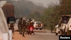 叛乱士兵控制了科特迪瓦的布瓦凯市(2017年1月6日)