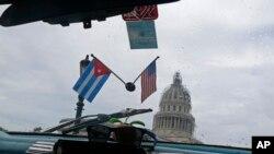 La relación entre Estados Unidos y Cuba ha sido objeto de intenso debate desde el anuncio de diciembre del restablecimiento de relaciones diplomáticas entre Washington y La Habana.