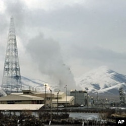 A view of the Arak heavy-water project, southwest of Tehran, January 15, 2011