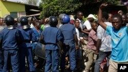 Mgogoro wa kisiasa nchini Burundi
