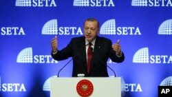 رجب طیب اردوغان رئیس جمهوری ترکیه - ۲۳ مرداد ۱۳۹۷