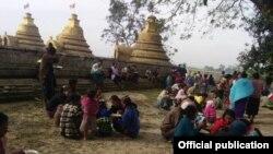 ရခိုင္စစ္ေရွာင္မ်ား (ဓါတ္ပံု-Rakhine Ethnics Congress)