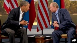 President Barack Obama is hoping to reach a deal with Russian President Vladimir Putin on Syria's chemical weapons.