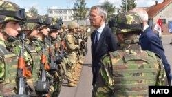 Глава НАТО Єнс Столтенберґ у Польщі