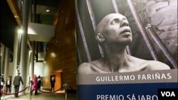 Guillermo Fariñas es un fuerte disidente cubano que ha realizado varias huelgas de hambre y quien recientemente fue galardonado con el premio Sájarov.