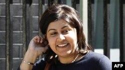 Quốc vụ khanh trong nội các Anh Baroness Sayeeda Warsi