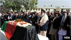 Afganistan: Antèman Ansyen Prezidan Burrhanuddin Rabbani