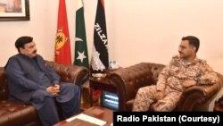 شیخ رشید احمد نے ڈی ڈی رینجرز سندھ سے بھی ملاقات کی ہے۔