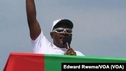 Pierre Nkurunziza, président du Burundi (Edward Rwema/VOA)