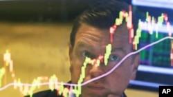지난달 25일 미국 뉴욕의 증권거래소. (자료사진)