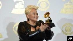 APTOPIX The 59th Annual Grammy Awards - Press Room