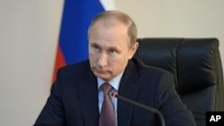 블라디미르 푸틴 러시아 대통령. (자료사진)