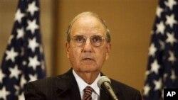 جورج مچل نمایندۀ رئیس جمهور ایالات متحده در شرق میانه