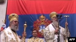 Ustoličenje patriijarha Irineja, Pećka patrijaršija, 3. oktobar 2010.