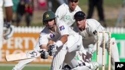 پاکستانی بلے بازوں کی پراعتماد بیٹنگ