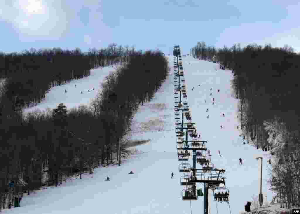 Женщины навострили лыжи