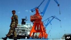18일 중국에 운영권이 이양된 파키스탄 과다르 항. (자료사진)