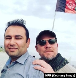 Zabihullah Tamanna (left) and David Gilkey