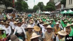 反ECFA公投行动联盟静坐示威