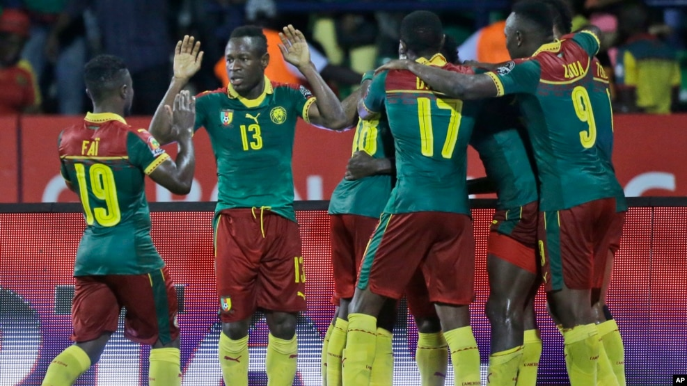 African cup of nations  2017 Result | Cameroon 2 - 0 Ghana