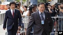 北韓代表團上星期與美國官員舉行會談。