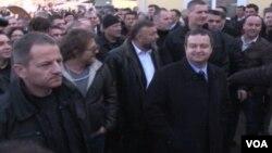 Premijer Srbije, Ivica Dačić u Gračanici, 14. januar 2014.