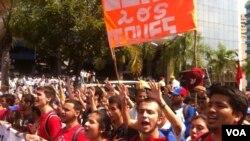 Venezuela Opposition Marches Against Maduro