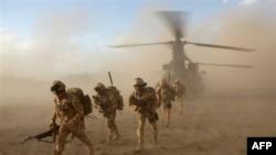 Britan askarlari Afg'onistonda. 2009-yil