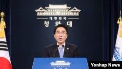 박수현 한국 청와대 대변인.