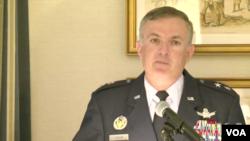 美國空軍太空司令部未來作戰部主任馬丁.維蘭少將。(視頻截圖)